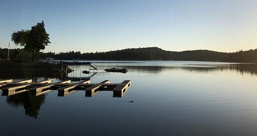 cocoabiscuit lakearrowhead california lake boat morning sunrise iphone