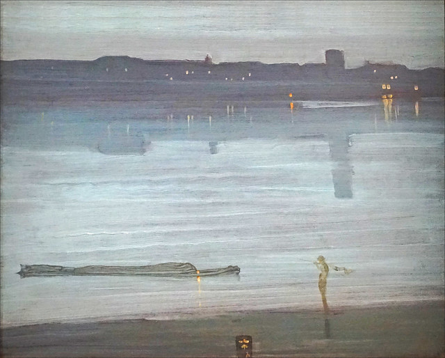 Nocturne de J. A. M. Whistler (Petit Palais, Paris)