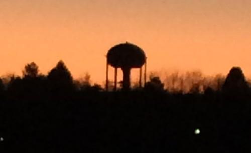 watertower martian tripod