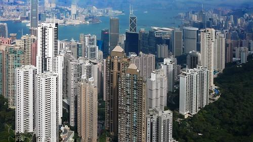 landscape harbour city