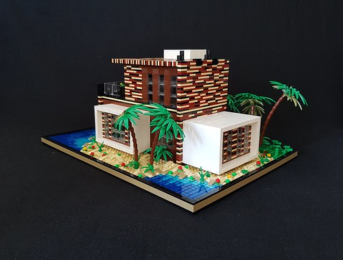Coral House MOC I   by betweenbrickwalls