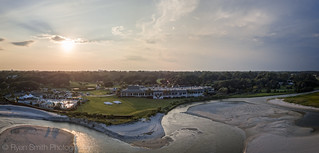 Dunes Golf and Beach Club is a pretty location from the air | by Ryan Smith Photography