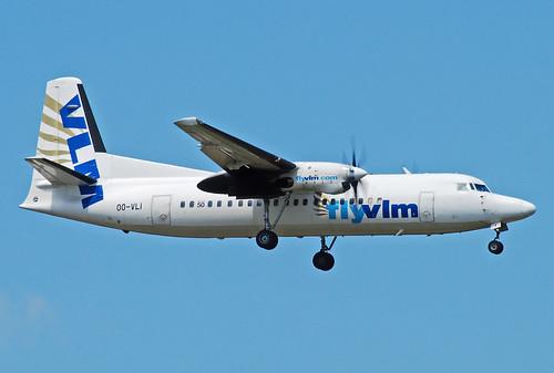 VLM Fokker50 OO-VLI | by gooneybird29