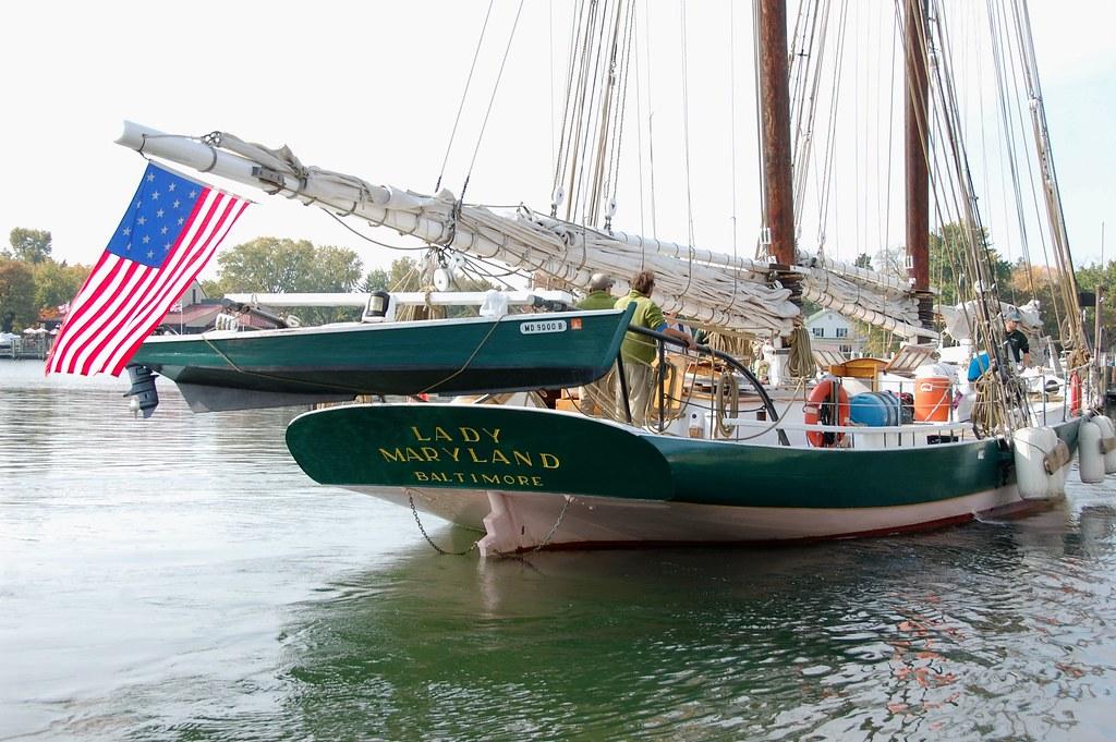 Chesapeake Bay Pungy Schooner Lady Maryland | The schooner L