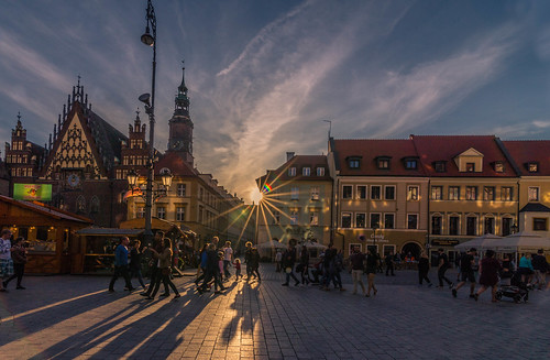sun sunset wroclaw poland europe travel tokina 1628mm view landscape city cityscape canon 6d may spring 2018