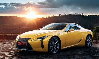 2018 Lexus LC Yellow Edition Coupe - 01   by Az online magazin