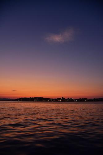 shimane d750 nikon nikond750 lakeshinji shinjilake lake sunset sunsetscene sky beautifulsky sanin 山陰 松江 島根 宍道湖 夕日