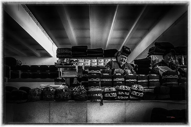 mercado uzbeco