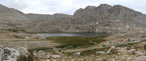 1197 Guitar Lake from the John Muir Trail, Trail Crest on the left and Mount Hitchcock on the right | by _JFR_