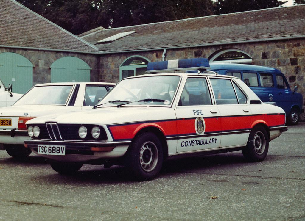Bmw 5srs Tsg 688v Fife Const Spc Tulliallan 1981 2 Flickr