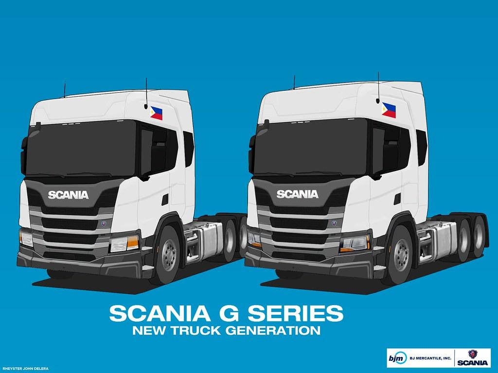 Scania G series (NTG) - Philippine specification in render… | Flickr