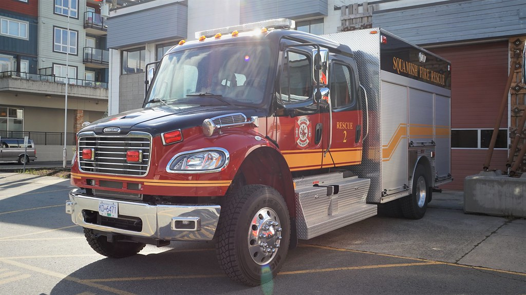 Squamish Fire Rescue 2 | 2016 Freightliner M2 106 4x4 / Fort