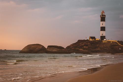 nature travelphoto lighthouse beach landscape sunset structures india westernghats karnataka padu seascape kapubeach evening sea ss82 landscapephotography ocean seashore keepexploring landscapecaptures travelworld kaup in