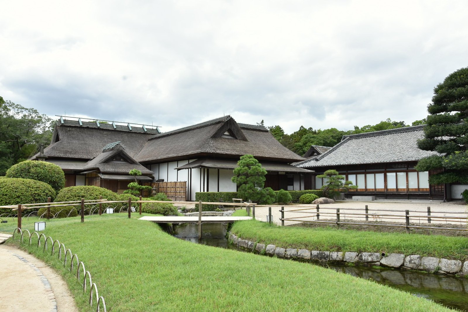 Jardins de Kôraku-en - Enyô-tei , demeure où séjournait le Daimyô