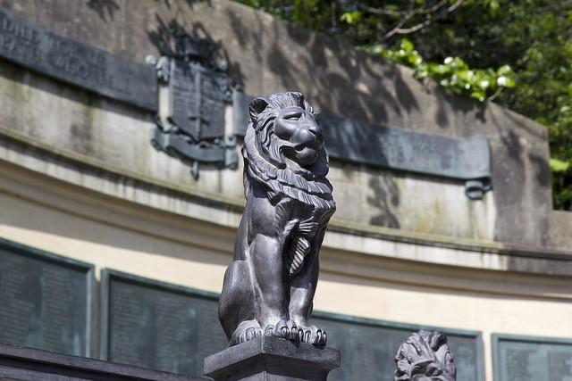 War Memorial, Queen's Parade Place, Bath, Somerset, UK