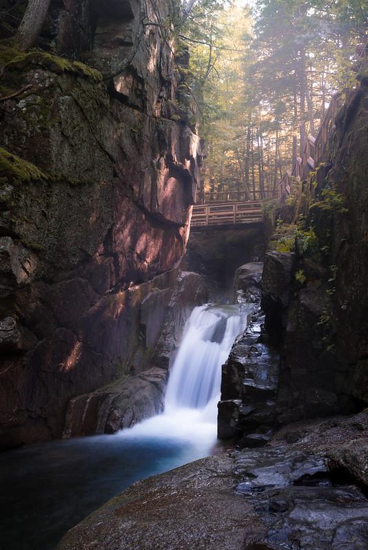Kancamagus Highway Waterfall