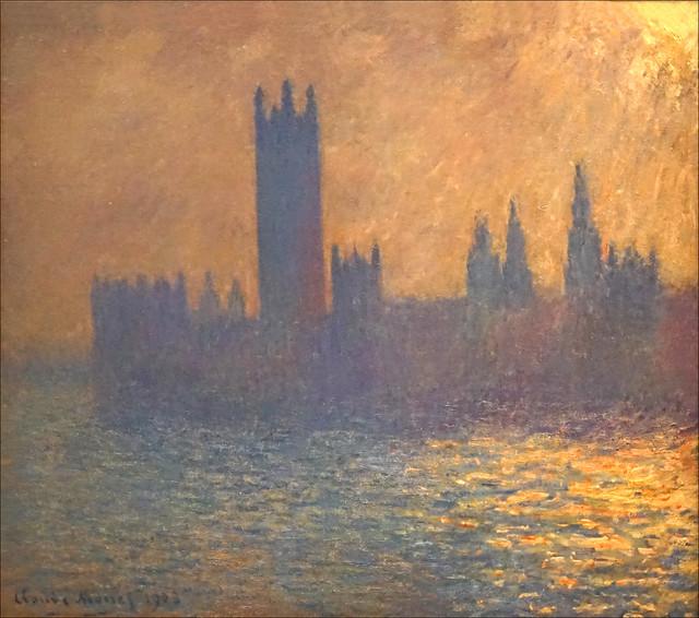 Le Parlement de Londres de Claude Monet (Petit Palais, Paris)