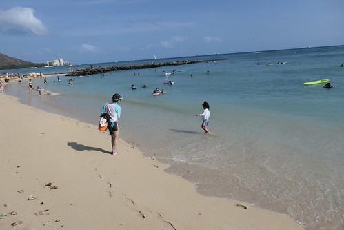 Vacation at beach