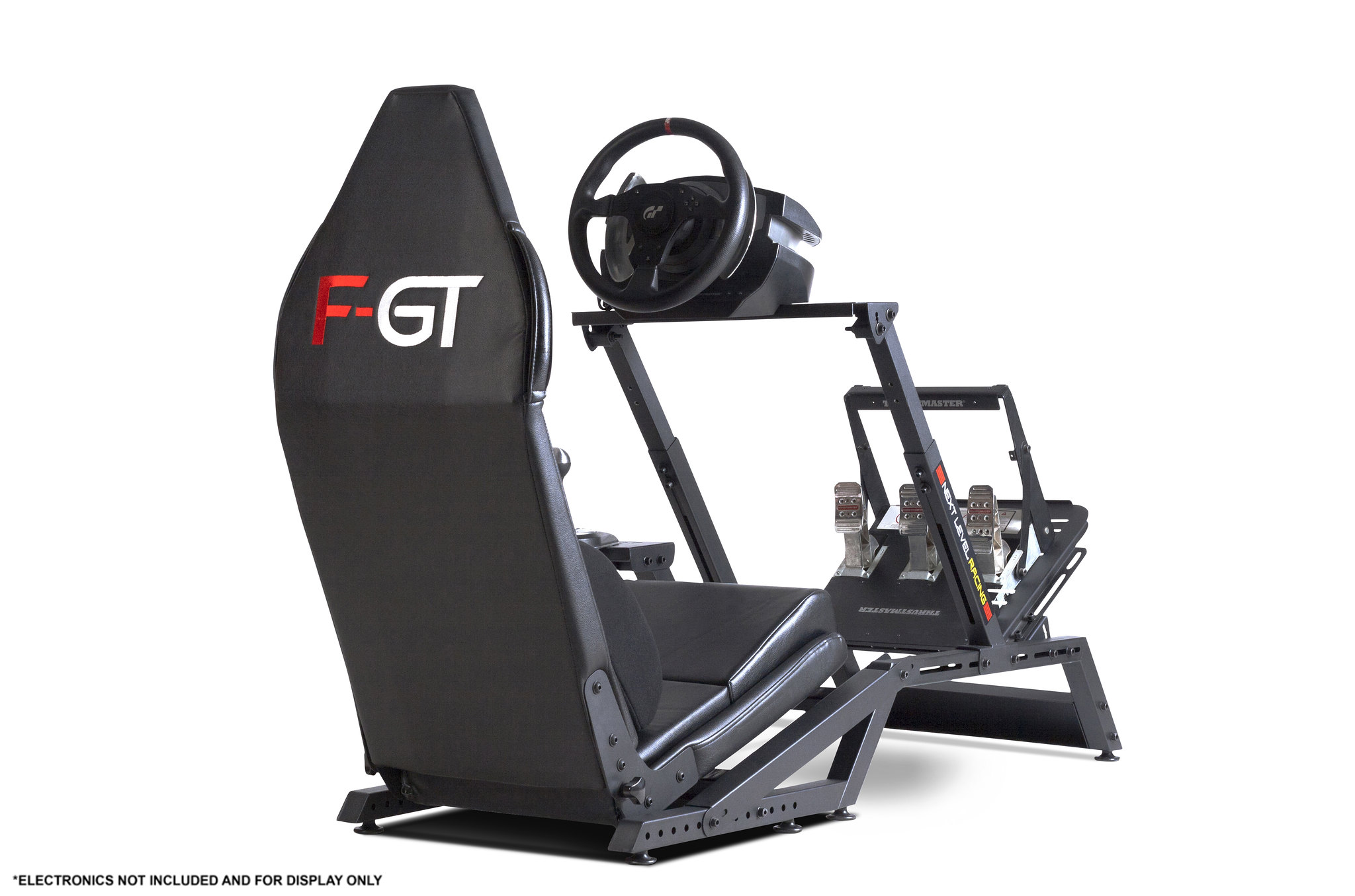 Next Level Racing F-GT Matte Black Simulator Cockpit 11