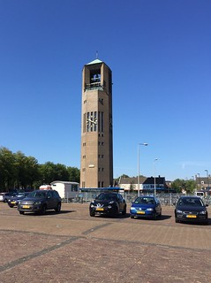 Clock tower, Emmeloord Netherlands.   July 16 2018. | by Dan Haneckow
