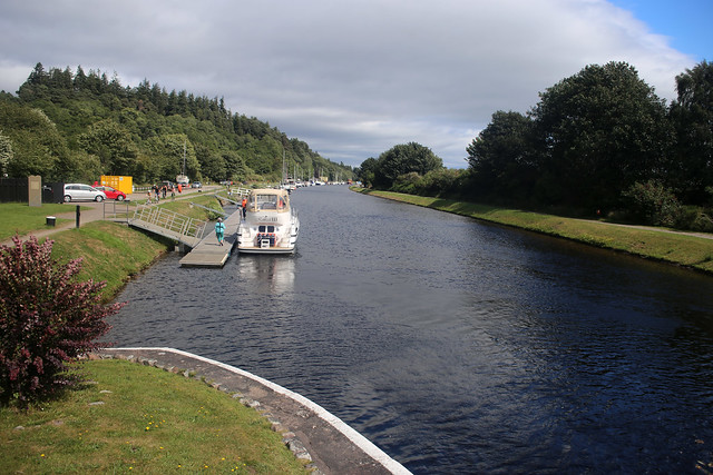The Caledonian Canal near Inverness