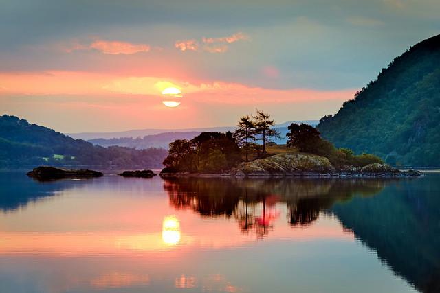 Norfolk Island, Ullswater, Cumbria, England
