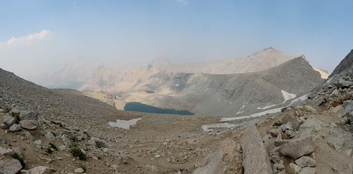 0781 Panorama view north from Forester Pass on the John Muir Trail   by _JFR_