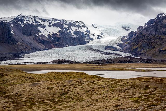 Retreating Glacier