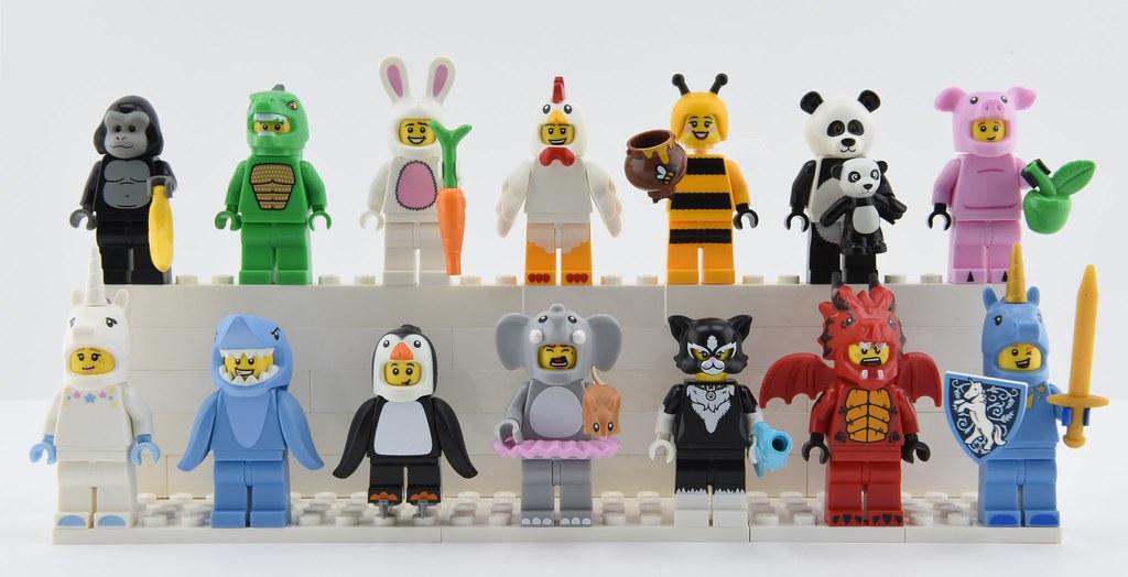 Lego Friends Animal minifigure tiger