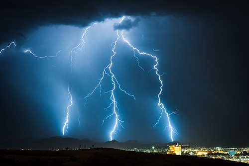 lightning sunsetstation lasvegas