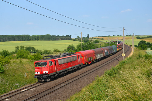 Ovelgünne 7 juni 2018 | Railpool / DB Cargo 155 030-0. | by mister1736