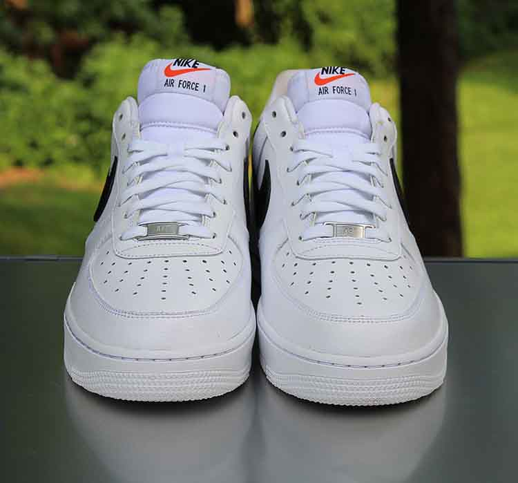 fcc2aa85e Nike Air Force 1 Low White Black 488298-158 Men's Size 10.… | Flickr