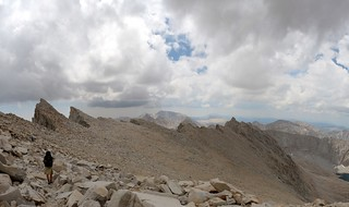 1561 The long traverse from Trail Crest north to Whitney is almost over - time to head east to the summit | by _JFR_