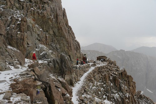1700 We arrive back at Trail Crest and our extra gear as the hail begins to let up, on the John Muir Trail | by _JFR_