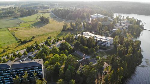 ikaalinen pirkanmaa finland fi suomi drone mavicair terme järvi lake
