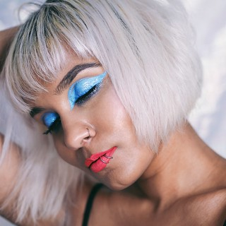 Lottie London Eye Foils Makeup Look Denied Savage Fire FOTD | by Fashionicide