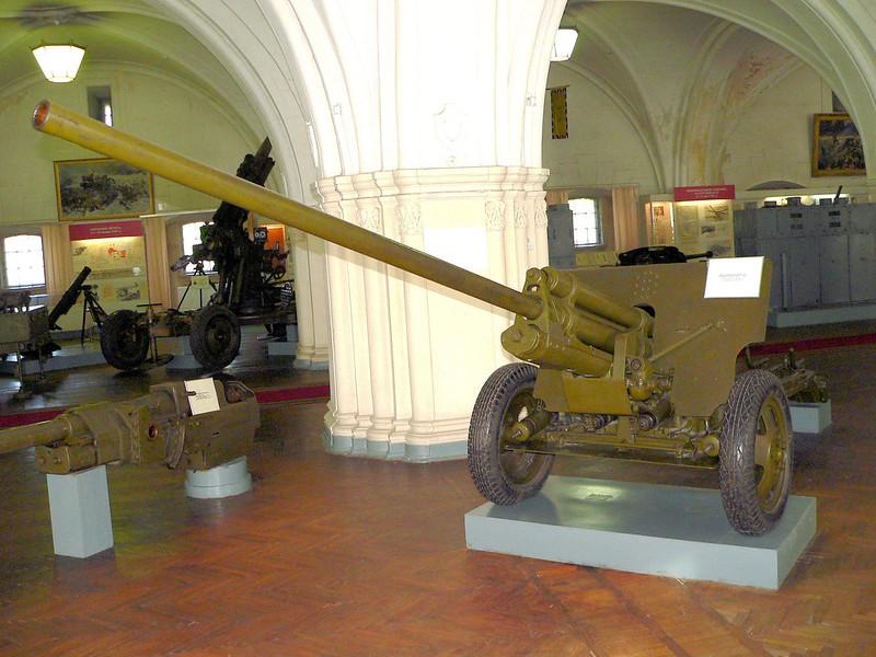 57毫米癌-2枪国防部。1941年3