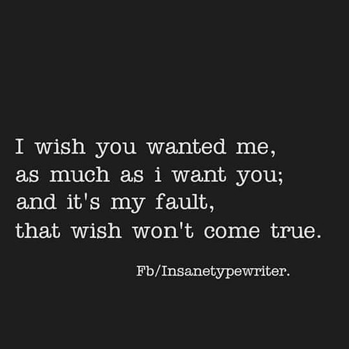 With quotes you was i wish 120+ I