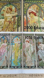 Big & Small - 2000 Educa & 1053 Epoch - The Times of the Day, A. Mucha | by Puzzabell