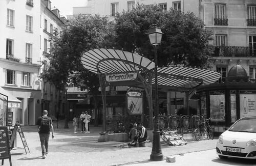 Paris - France - Metro Chatelet - Place sainte Opportune