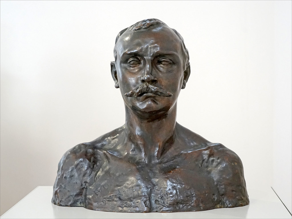 Buste de Paul Claudel par Camille Claudel (Musée Camille Claudel, Nogent-sur-Seine)
