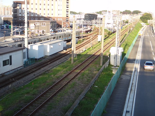 Atsugi line of Sagami Rwy. and Sagami line of JR
