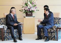 OECD Secretary-General Angel Gurría official visit to Japan