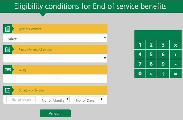 End of Service Benefits (ESB) Calculator in Saudi Arabia - Life in