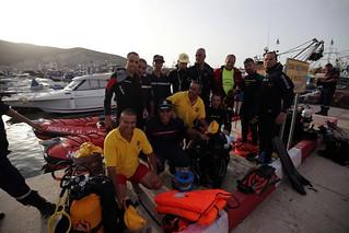 ALGERIA – School for Extreme Divers - ALGÉRIE - L'école des plongeurs de l'extrême - الجزائر - مدرسة غواصي المهام الصّعبة