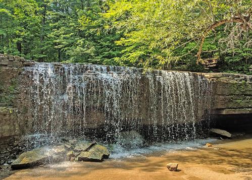 nerstrand bigwoods waterfall