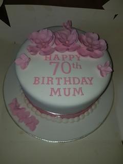 70th birthday cake | by platypus1974