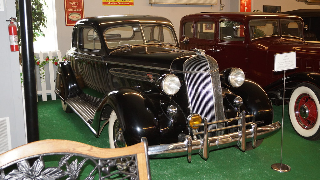 1936 Chrysler Airstream Deluxe Coupe Model C-8 | The Old Chr