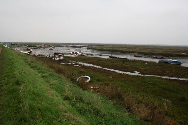 Salt marsh near Morston