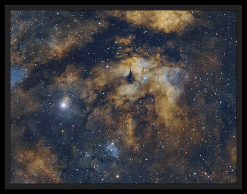 Sadr - Cygnus constellation   by Andre vd Hoeven